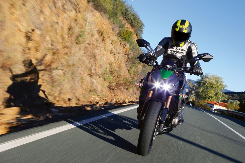 Kawasaki Z1000 2014. Prueba