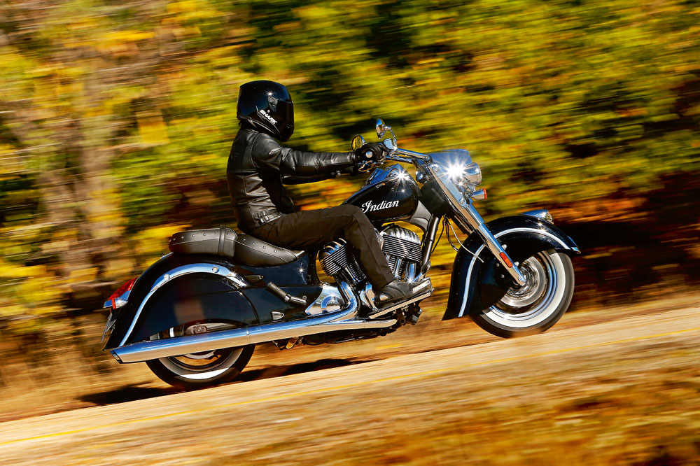 Indian Chief Classic 2014. Prueba