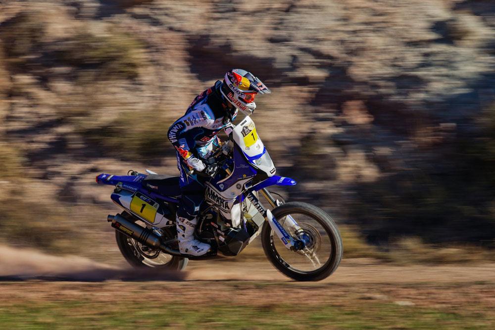 Cyril Despres nos presenta su Yamaha para el Dakar
