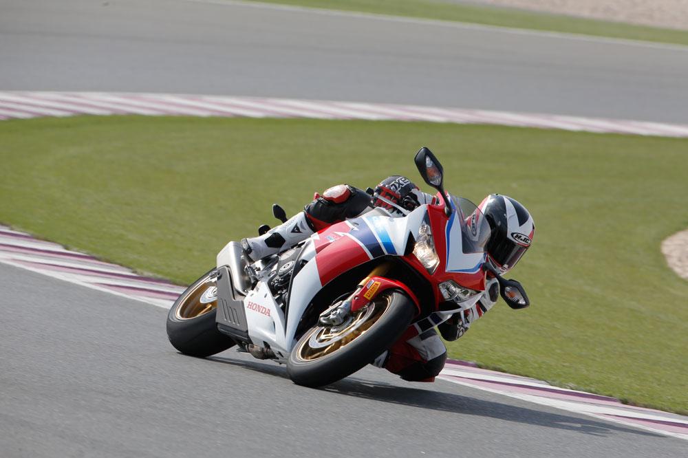 Honda CBR1000RR SP Fireblade. Prueba
