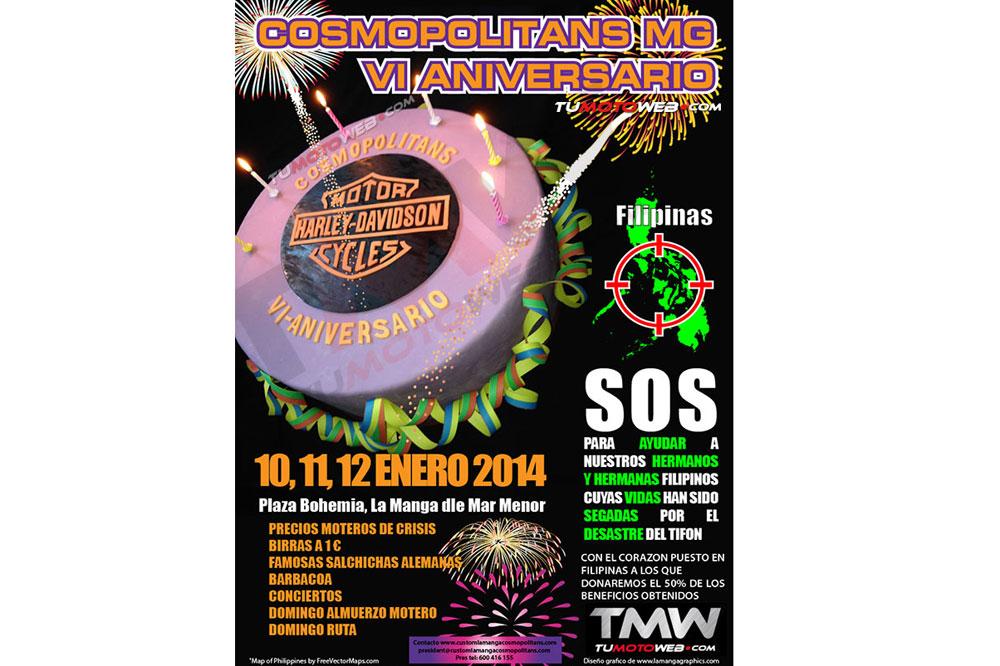 VI Aniversario Cosmopolitans MG