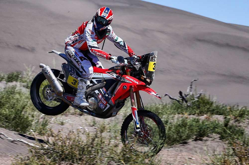 Joan Barreda se afianza en el primer puesto en el Dakar