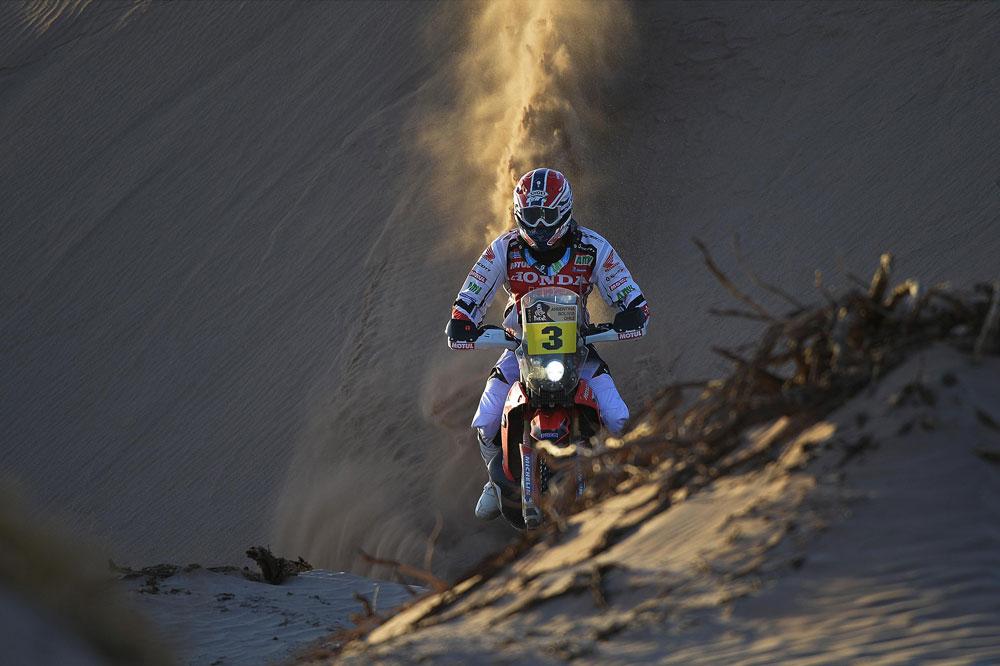 Joan Barreda se impone en la séptima etapa del Dakar 2014