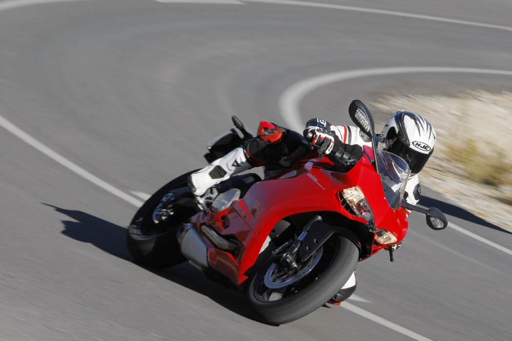 Prueba de la Ducati 899 Panigale