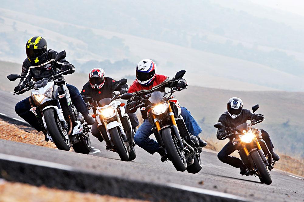 Comparativa naked: Kawasaki, Suzuki y Yamaha