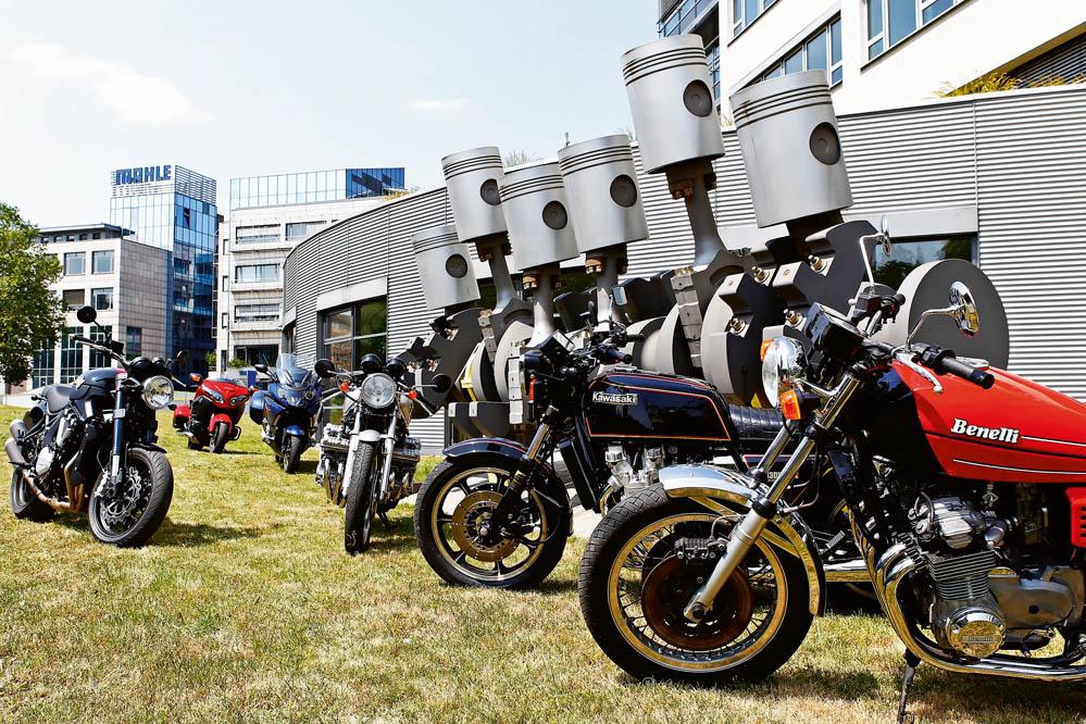 Comparativa de motos de seis cilindros