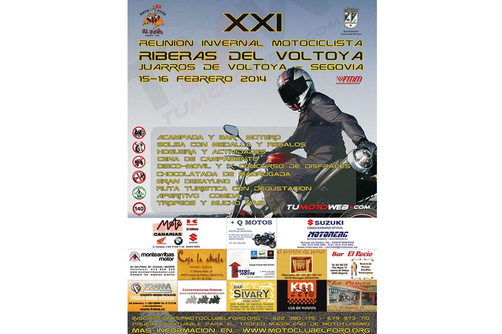XXI Reunión Invernal Riberas del Voltoya