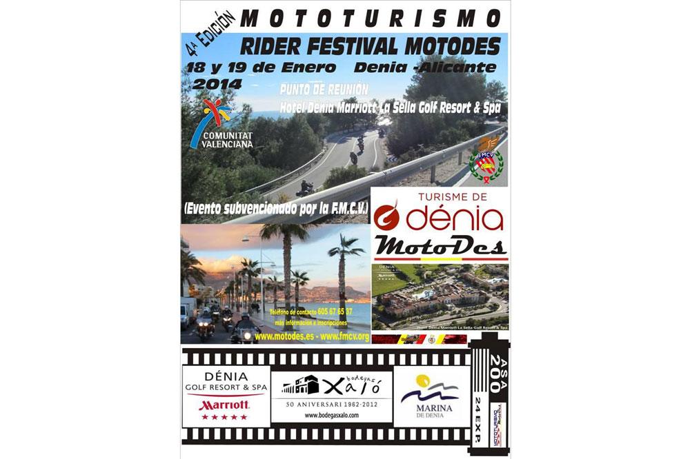 IV Mototurismo Rider Festival MotoDes