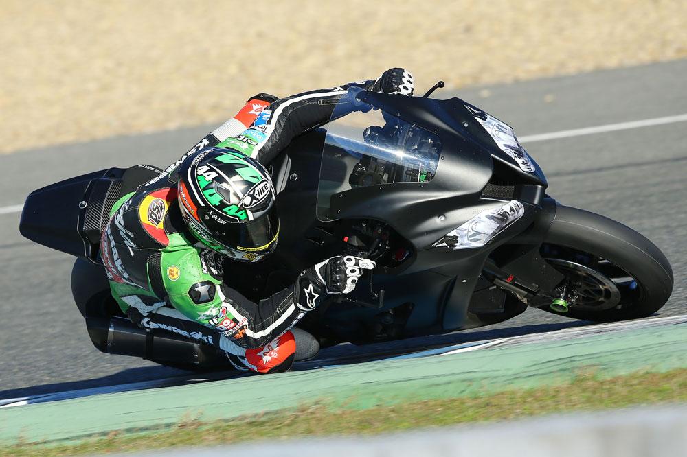 David Salom disputará el Mundial de SBK con una Kawasaki EVO