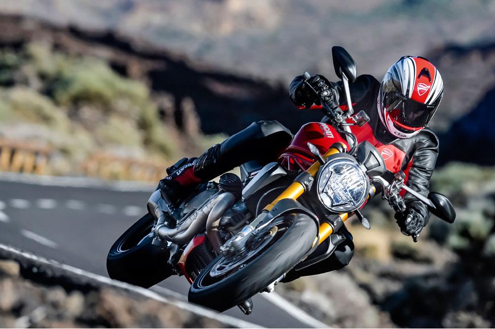 Ducati Monster 1200 S. Prueba