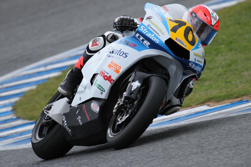 Luca Vitali ficha por el Team Stratos de Moto2