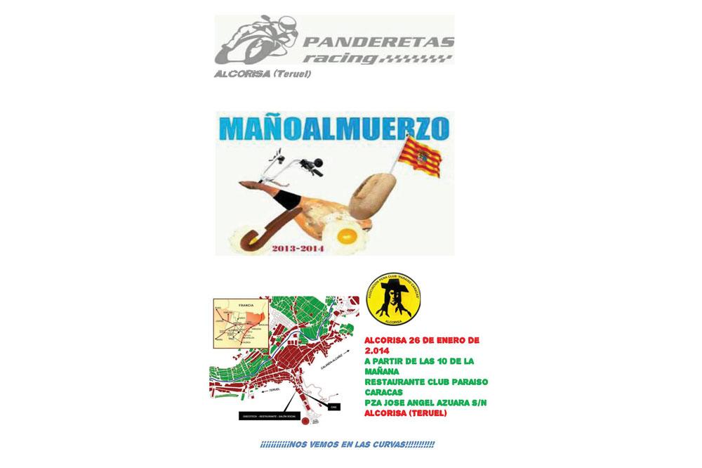 Mañoalmuerzo Alcorisa 2014