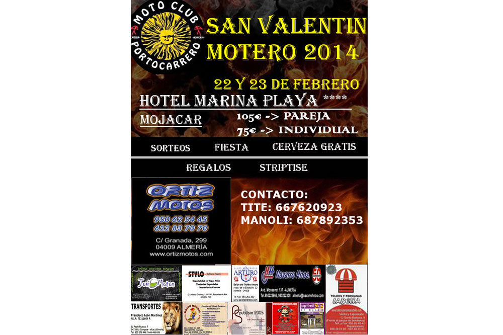 San Valentín Motero 2014