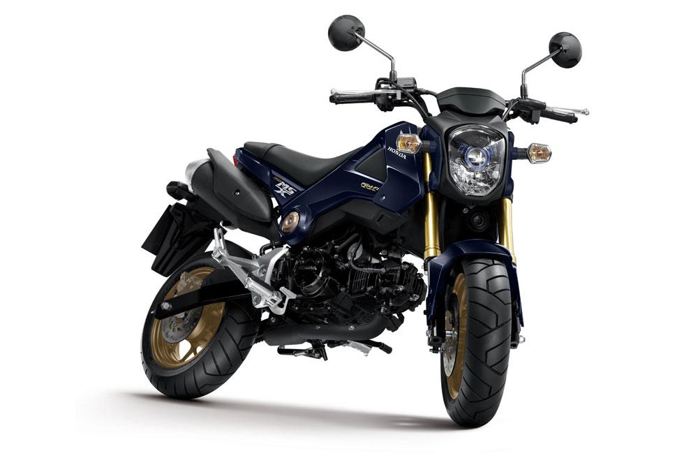 Nuevo color para la Honda MSX125