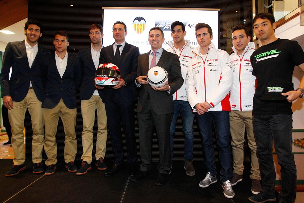 El Aspar Team y el Valencia CF unen fuerzas en MotoGP