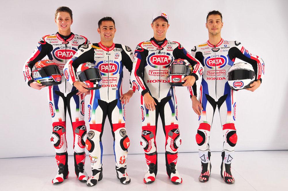 Presentación del equipo Pata Honda de SBK
