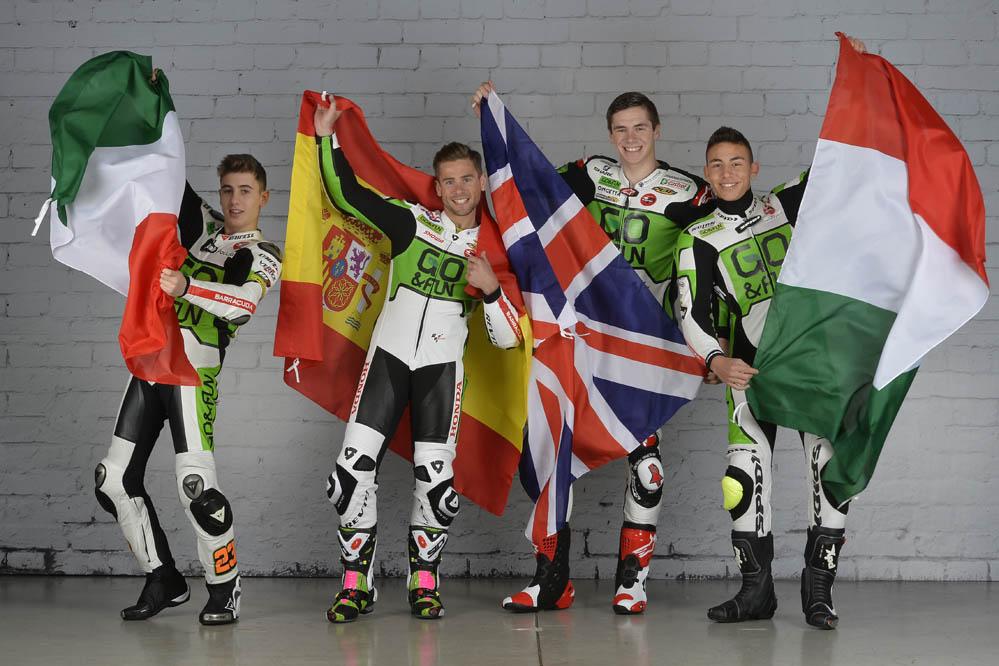 Presentacion del equipo Go&Fun Honda Gresini de MotoGP