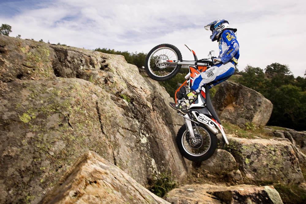 KTM 250 Freeride. Prueba