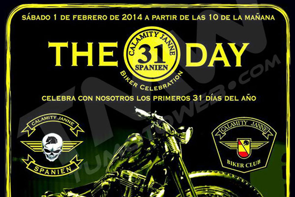 The 31 Day Rastro Biker 2014