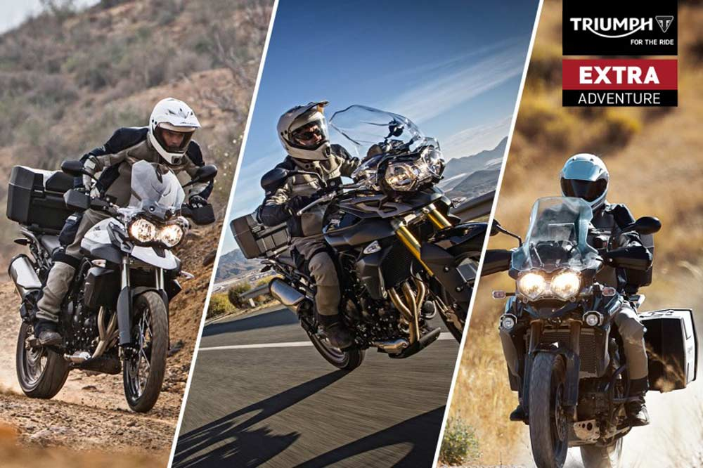 Promoción trail Extra Adventure de Triumph