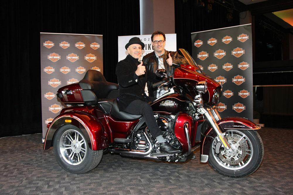 Harley-Davidson presenta por primera vez en España la nueva Tri Glide Ultra Classic