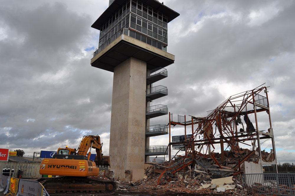 Comienzan las obras de remodelación del Jarama