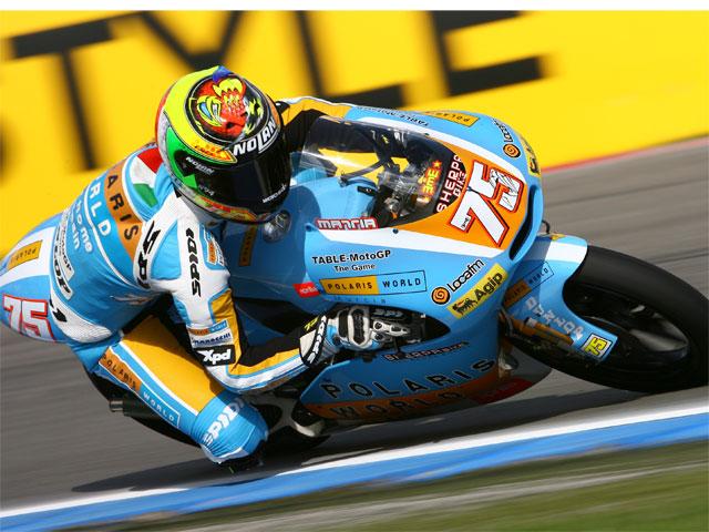 GP de Holanda. Carrera de 125 cc