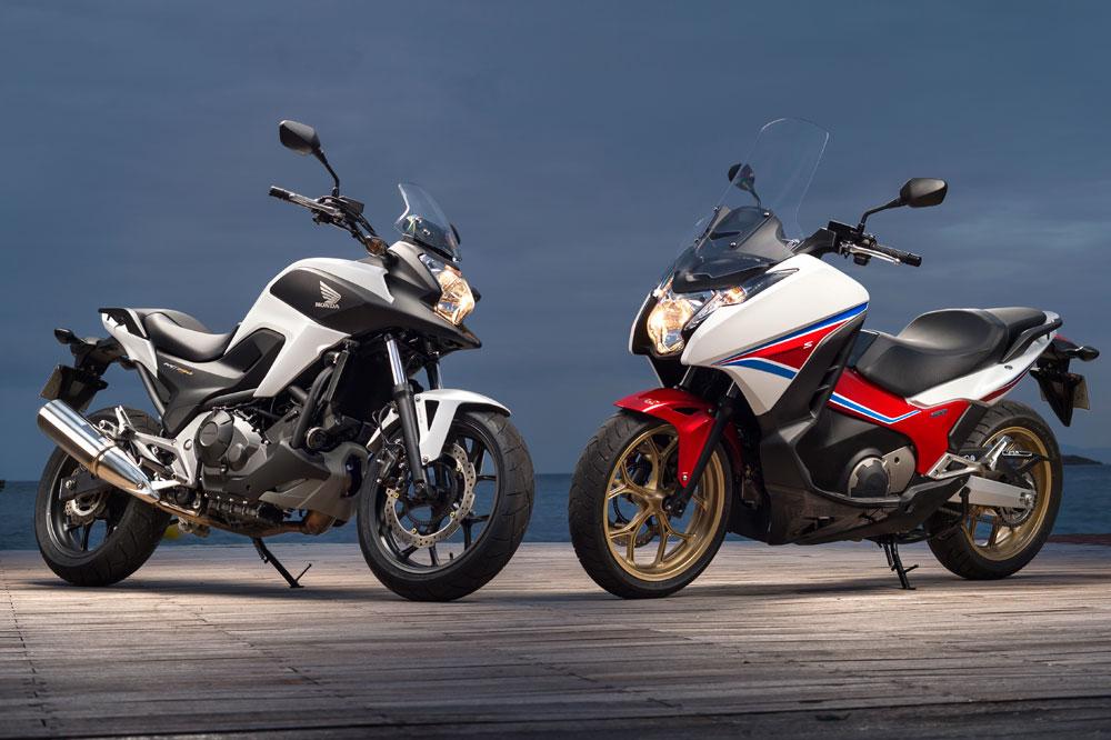 Honda Integra y Honda NC750X
