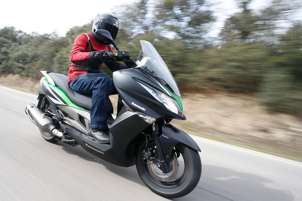 Vídeo de la presentación del scooter Kawasaki J300