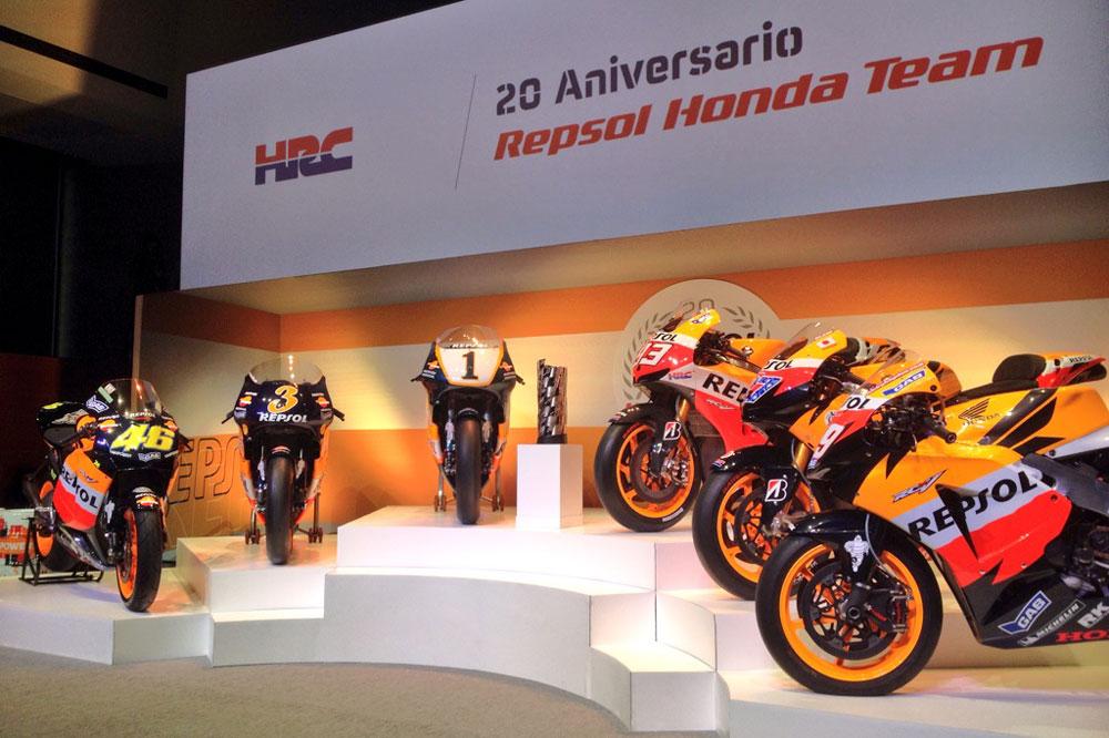 El Repsol Honda Team celebra su 20 aniversario