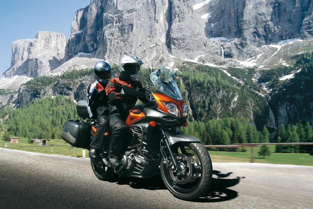Suzuki V-Strom 650 ABS totalmente equipada a un precio increíble