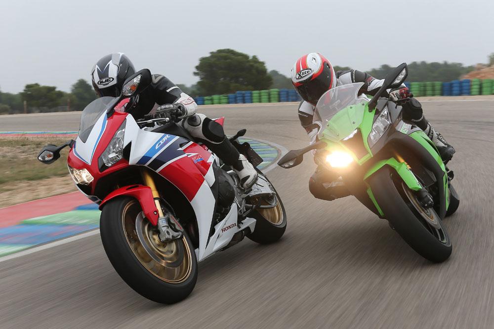 Comparativa Honda CBR1000RR SP y Kawasaki ZX-10R