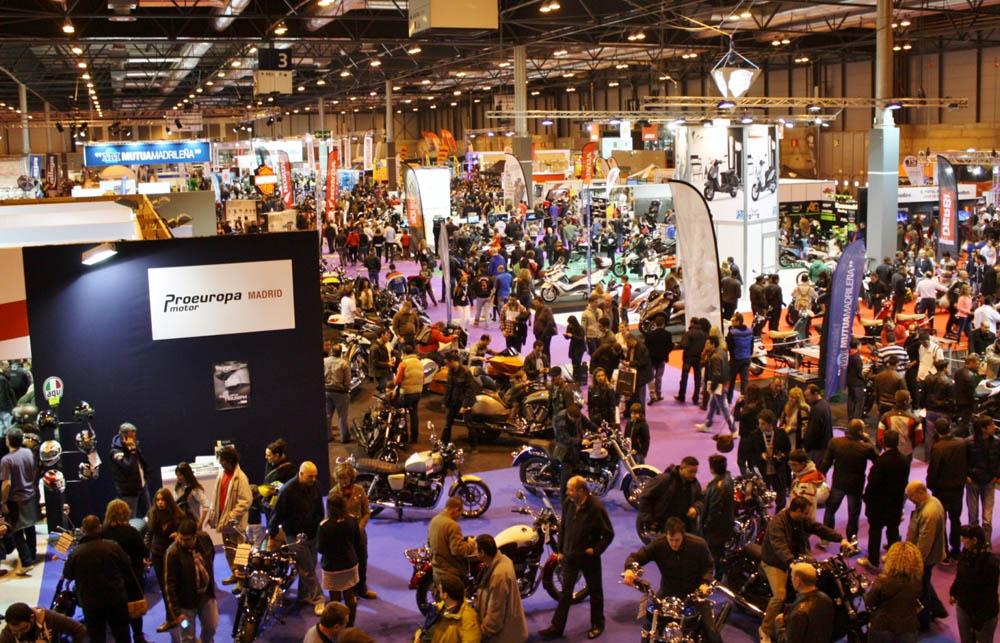Más productos y deporte en MotoMadrid 2014