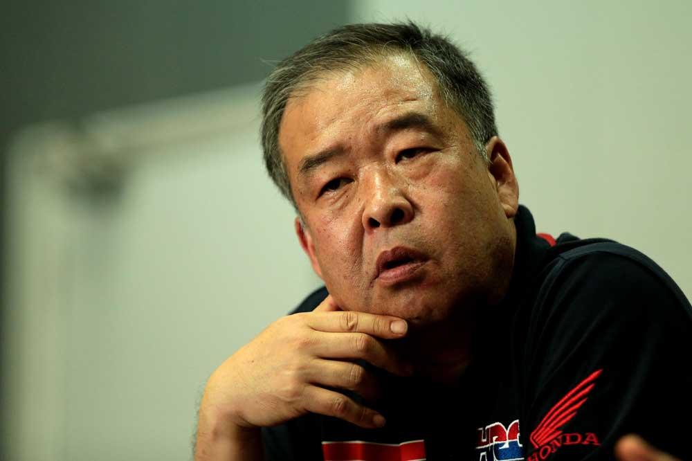 "Shuhei Nakamoto: ""La moto va a recibir actualizaciones de manera regular"""