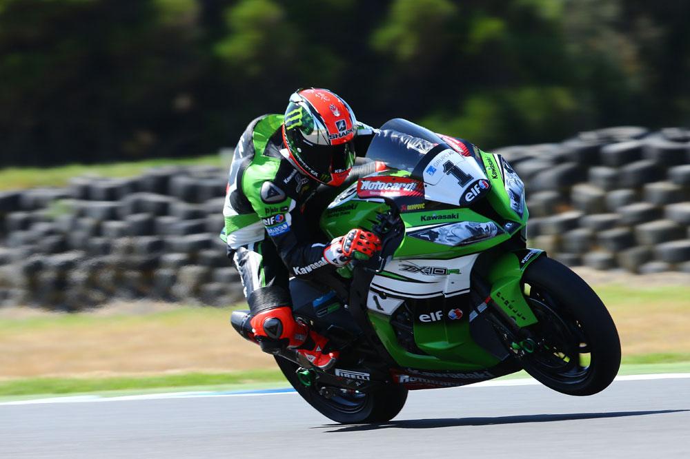 Tom Sykes cierra el test de SBK en Australia como el más rápido