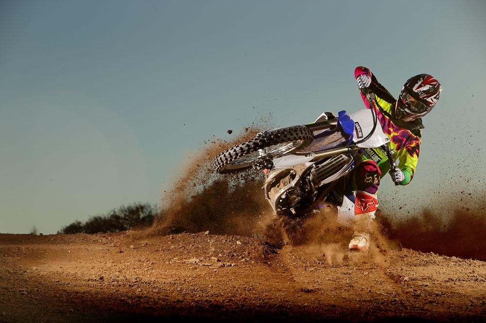 Prueba de la Yamaha YZF250 2014