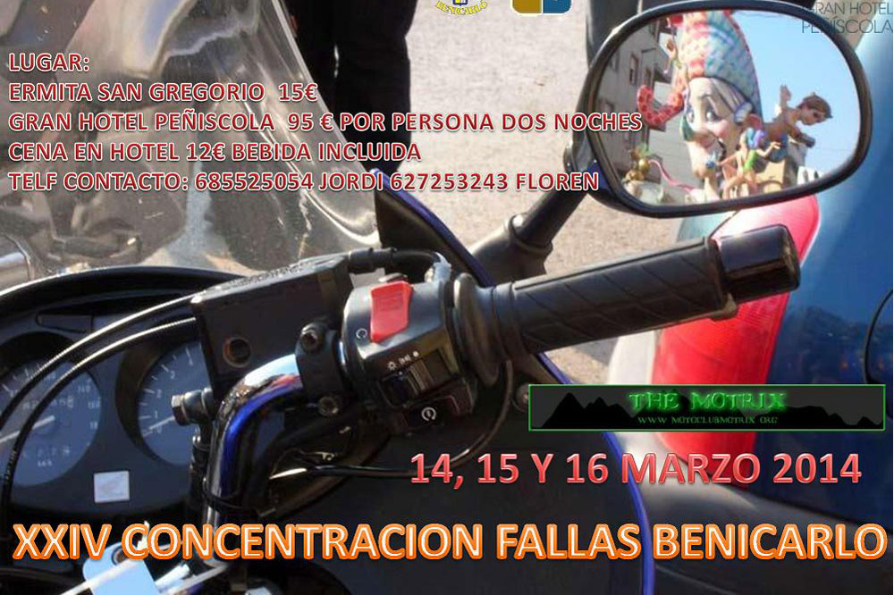 XXIV Concentración Motociclista Fallas Benicarlo
