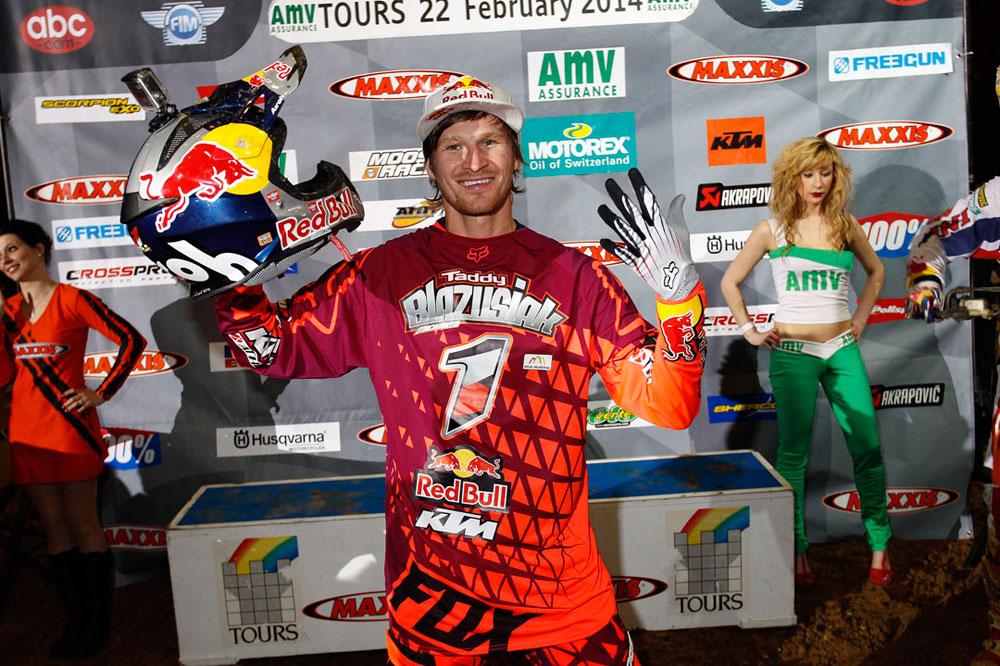 Taddy Blazusiak: Campeón de SuperEnduro 2014