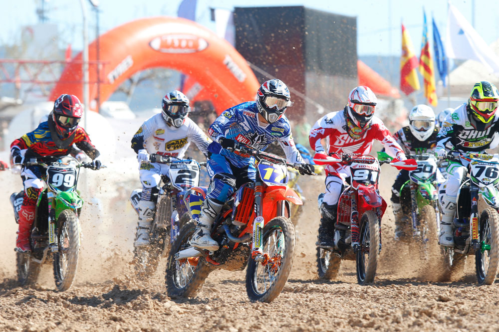 Butrón gana la prueba inaugural del Nacional de Motocross en Albaida