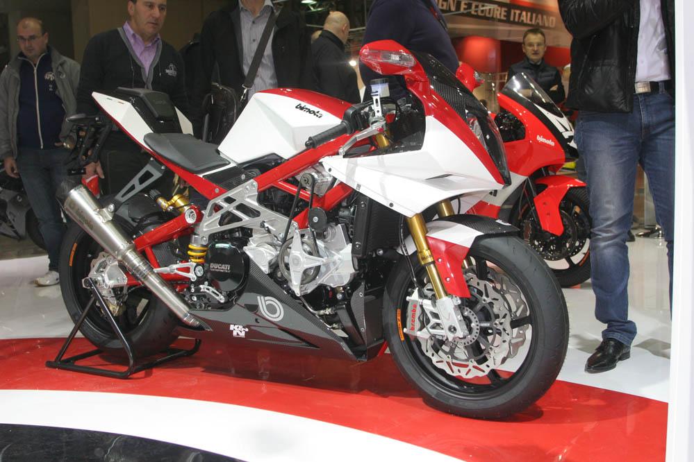 Motos con motores sobrealimentados