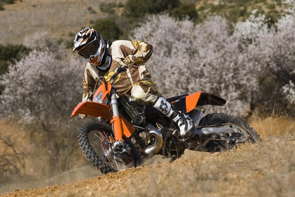 Segunda mano: KTM 200 EXC 2009