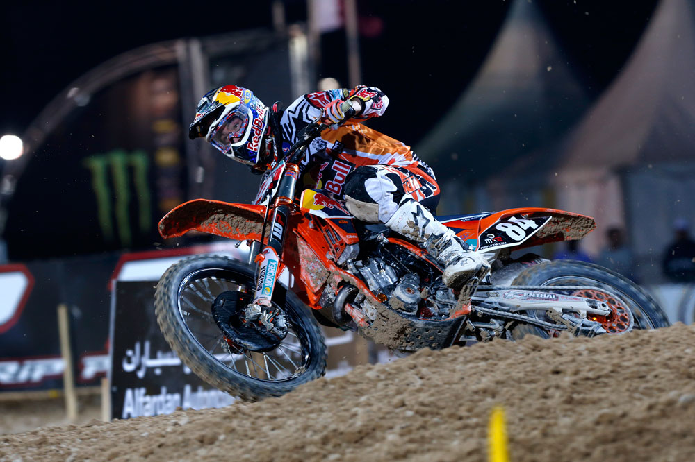 Jeffrey Herlings arrasa en el MXGP de Qatar