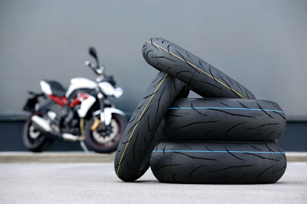 Nuevas medidas de los neumáticos radiales Mitas Sport Force