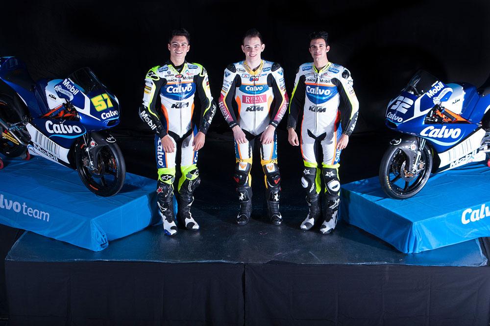 El Calvo Team presenta a su equipo de Moto3 en Madrid