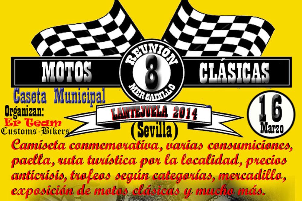 VIII Reunión Motos Clásicas de Lantejuela