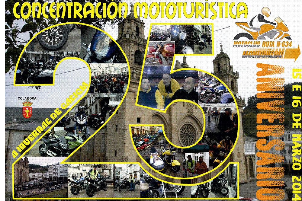 XXV Aniversario Concentración Mototurística Ruta N-634