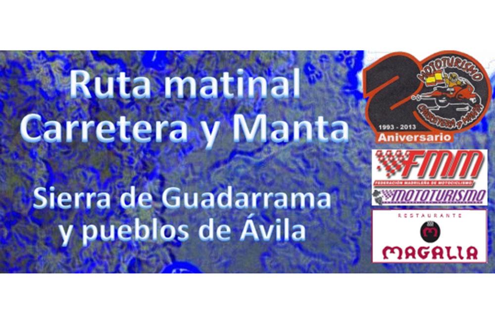 Ruta Matinal Carretera y Manta 2014