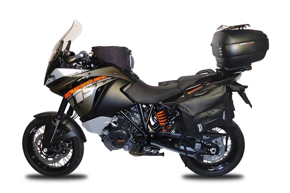 Equipa la KTM 1190 Aventure con accesorios Shad