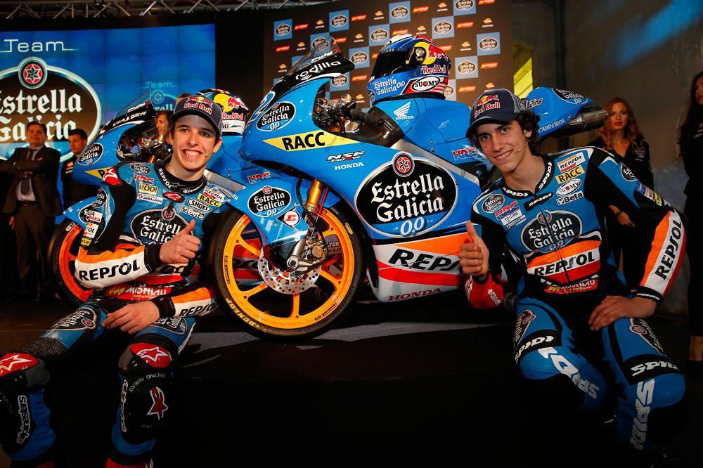 Rins y Márquez desvelan sus nuevas Honda