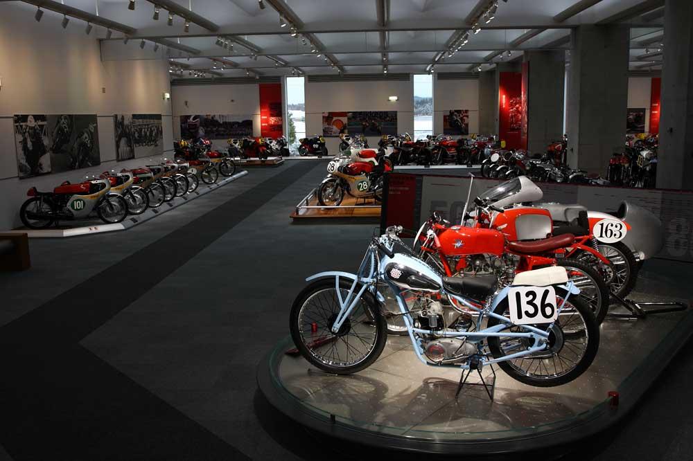 Visita el museo Honda Collection Hall